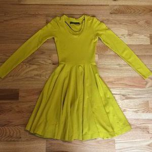 Zara circle dress, worn once, stretch ponte
